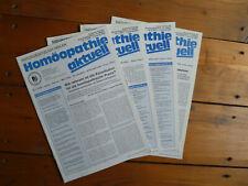*HOMÖOPATHIE AKTUELL NATURGESETZLICH HEILEN * Nr. 1/2008, 1 und 3-4/2007