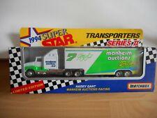 Matchbox 1994 SUper Star Transporters Seres II Harry Gant in White/Green in Box
