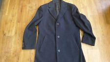 Hugo Boss Stratus men's black coat 100% virgin wool size 48