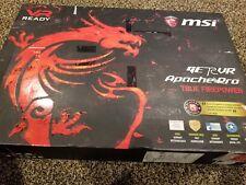 """MSI GE72VR 7RF 17.3"""" 1TB Intel Core I7-7700HQ CPU 2.80GHz Laptop GTX 1060"""