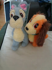 Vintage Lady and the Tramp soft toys