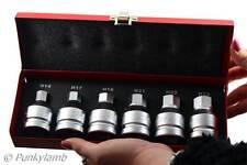 "6pc 3/4"" inch Drive Hex Allen Bit Socket Set 14mm 17mm 19mm 21mm 22mm 23mm"
