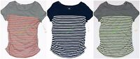 Womens Maternity Crew Neck Tee T Shirt Top Liz Lange NWT size XS S M L XL XXL