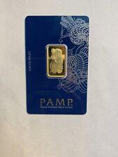 10 Gram Gold Bar - PAMP Suisse  999.9 Fine in Sealed Assay