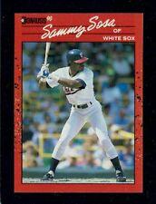 New listing SAMMY SOSA Rookie RC 1990 Donruss (Card #489) White Sox - Cubs