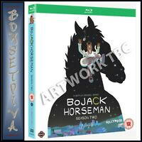 BOJACK HORSEMAN COMPLETE SERIES 2 - SECOND SEASON  BRAND NEW BLURAY