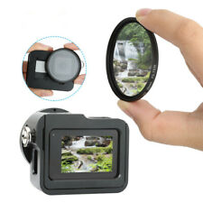 Aluminum Alloy Protective Cage 52mm Lens Cap Filter Kit For Gopro Hero 8 Camera