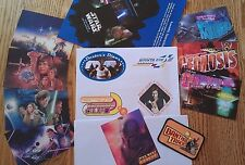 Star Wars Fan Club collectibles: stickers, postcards, diorama, patch & poster