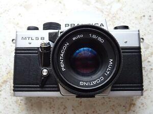 Praktika MTL 5 B  Pentacon auto 1.8/50 Multi Coating Fototasche