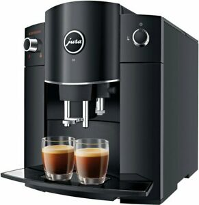 JURA D6 Piano Black coffee machine, free shipping Worldwide