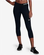 Nike Women's Pro Capris Black/White Size XX-Large
