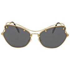 Miu Miu Antique Gold Butterfly Sunglasses