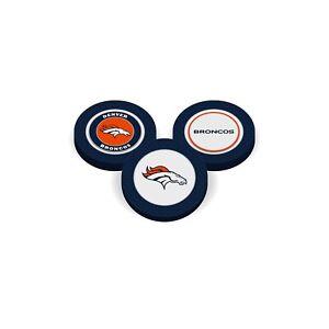 Team Golf Denver Broncos Poker Chip With Magnetic Ball Marker  2 Sides