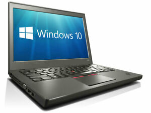 "Lenovo THINKPAD X250 12.5 "" i5 8GB 256GB SSD Wi-Fi Webcam W10 Pro Ultrabook"