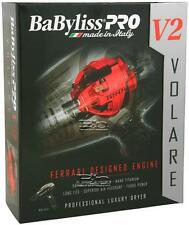 BABFV2 BABYLISS PRO NANO TITANIUM VOLARE V2 Mid-Size Dyer DRYER BLACK