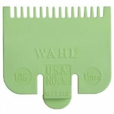 Wahl Standard Fitting Hair Clipper Attachment Comb No 1/2 1.5mm Green /lime1/16""