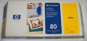 HP 80 Druckkopf Printhead yellow gelb C4823a für designjet 1050 c 1055 cm  OVP