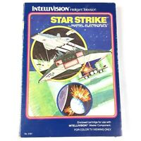 Intellivision Star Strike Game In Box -  Complete With Instructions