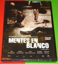 MENTES EN BLANCO / Unknown -DVD R2- Precintada