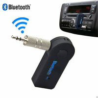USB Audio Music Car Adapter Receiver Mini Bluetooth 3.5mm Aux Stereo Wireless CH