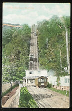 91-TRAINS & RAILROAD -CANADA, Incline Railway, Montreal -Undivided Back