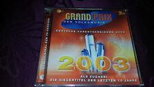 CD Grand Prix Der Volksmusik / Deutsche Vorentscheidung 2003 - Album 2Cds 2003