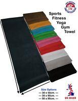 Uni-Colour/Gym/Sports/Yoga/Training Towel/100%Cotton/Soft & Absorbed/Bordur
