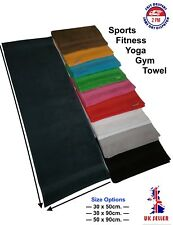 Uni-Colour/Gym/Sports/Yoga/Training Towel/100%Cotton/Soft & Absorbed/Bordur