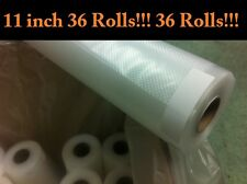 "36[Thrity Six] 11""x18' rolls 648ft for FOODSAVER & FOODSHELL Vacuum Sealer bags"