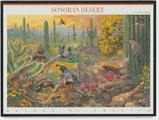 "U.S. 1999 Sheet #3293, ""Sonoran Desert,"" ten 33 cent stamps, mNH Very Fine"