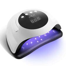 PROFESSIONAL 168W LED UV GEL NAIL DRYER LAMP W DOUBLE LIGHT SOURCE FO HOME/SALON