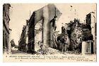 CPA 51 - REIMS (Marne) 9. Rue Eugène Desteuque Maisons incendiées et bombardées