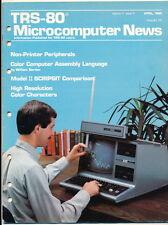 TRS-80 Microcomputer News - April 1982