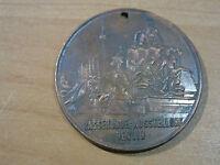 Original DDR Medaille KS -Berlin Biesdorf-Rassehunde Ausstellung-Bronze, 3417M-1