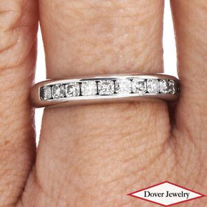 TIFFANY & CO Diamond Platinum Lucida Wedding Band Ring 5.3 GR $5,850.00 NR