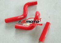 For Kawasaki KX80 KX85 KX100 1998-2009 99 01 02 03 04 Silicone Radiator Hose RED