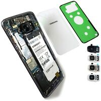 Clear Transparent Back Glass Replacement+IP68 Tape for Samsung Galaxy S7/S7 Edge