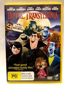 HOTEL TRANSYLVANIA. ADAM SANDLER, ANDY SAMBERG, SELENA GOMEZ, KEVIN JAMES. DVD