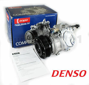 New! Jaguar XJ8 DENSO A/C Compressor and Clutch 471-1358 MCA7300AE