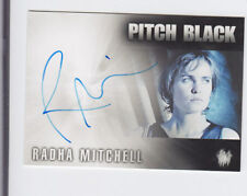 The Chronicles Of Riddick Radha Mitchell As Carolyn Fry Pitch Black Autograph