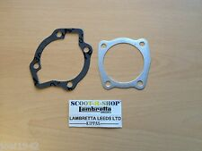 GP-LI- SERIES 3 175 - 185 CC SMALL BLOCK HEAD AND BASE GASKETS. FOR LAMBRETTA