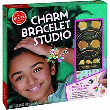 CHARM BRACELET STUDIO - MAKE YOUR OWN JEWELRY KIDS KLUTZ BOOK & ACTIVITY KIT