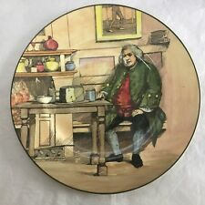 ROYAL DOULTON CABINET PLATE DR JOHNSON AT THE CHESHIRE CHEESE 10 1/4 INCHES