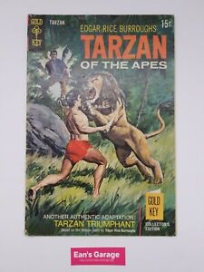 Tarzan of the Apes #184 - Gold Key June 1969 - actual pictures - FN/VF