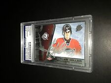 Ryan Miller Signed 2002-03 Pacific Quest Cup Rookie Card PSA Slabbed #83356583