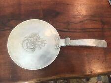 Vintage Everlast Silent Butler Metal Flip Lid Pan 552 Hand Forged Crumb Catcher