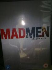 Mad Men Season 5 Complete Set [2012 DVD]   Jon Hamm, Elizabeth Moss. Free P&P