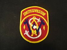 """Smith And Wesson Sewing patch round 4"""" x 3"""""""