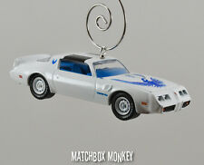 Custom Classic '80 Pontiac Firebird T/A Turbo 4.9 Trans Am Ornament 1/64 T Tops