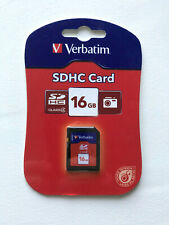 Verbatim SDHC Card - 16GB - Class 4 - New and Sealed